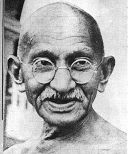 Mahatma Ghandi om effekten af manglende tillid.